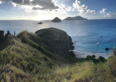 Panoramique sur les Îlots Choazil - Visiter Mayotte