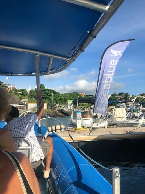 Sortie bateau avec Seablue - Visiter Mayotte
