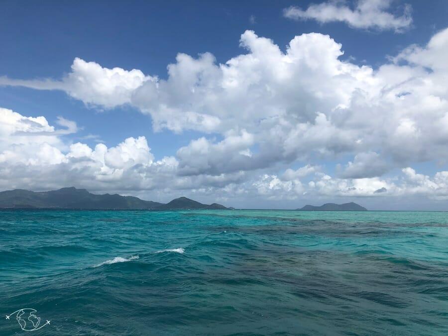 Sortie Bateau près des îles Choazil - Mayotte