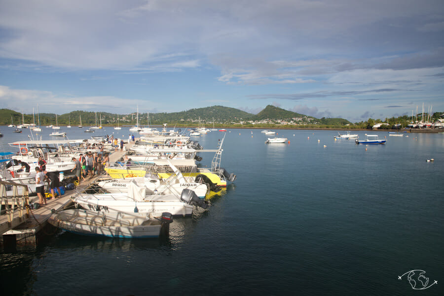 Visiter Mayotte - Port de Petite-Terre
