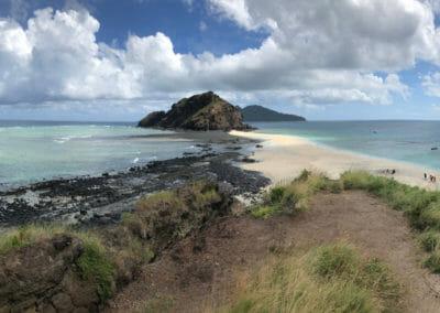 Vue des iles Choazil - Visiter Mayotte
