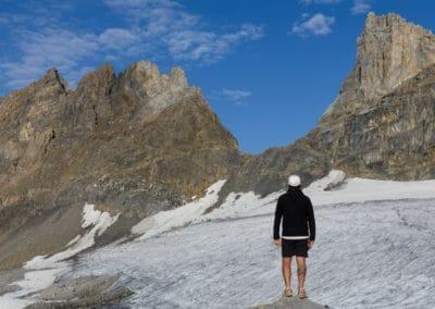 Moi au Refuge des Dents du Midi_Suisse_Blog Nature et Culture, Activités Outdoor