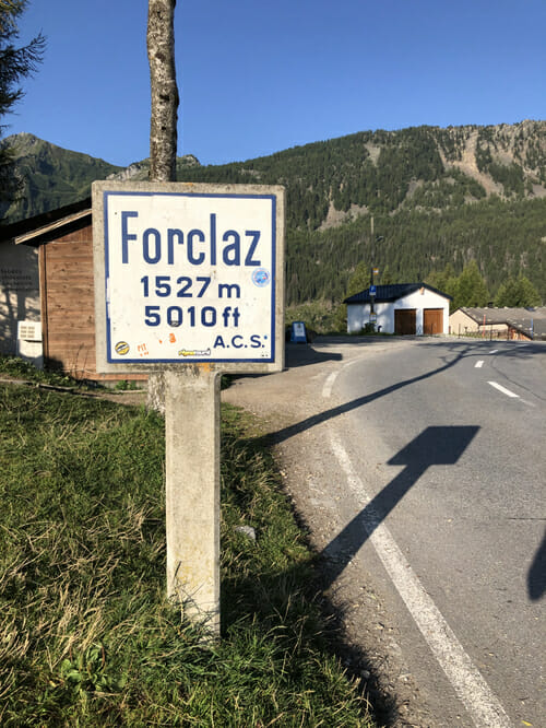 Col de la Forclaz - Vallée du Trient