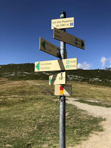 Col des Posettes - Vallorcine