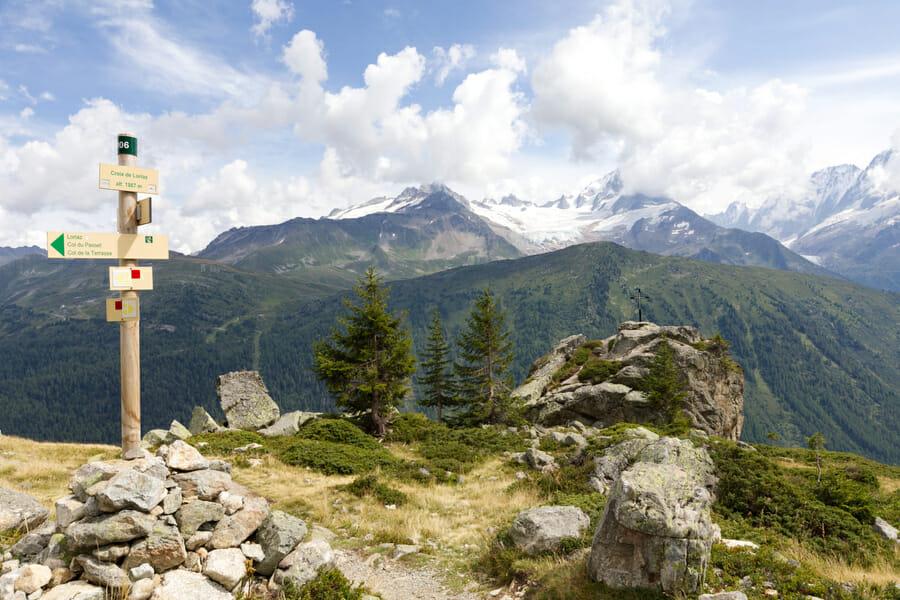 Col de Loriaz - Vallorcine - Tour de la Vallée du Trient