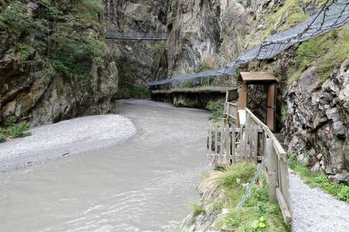 Gorges du Trient - Vernayaz - Vallée du Trient