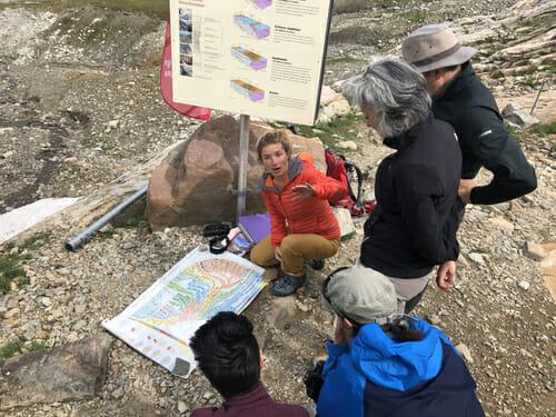 Guide sur le Site à empreinte - Vallée du Trient
