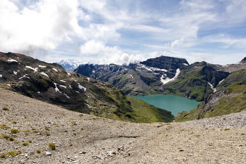 Lac d'Emosson du Col de Barberine - Vallée du Trient