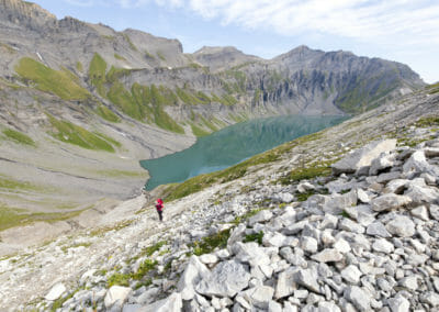 Lac du Vieux Emosson - Tour de la Vallée du Trient