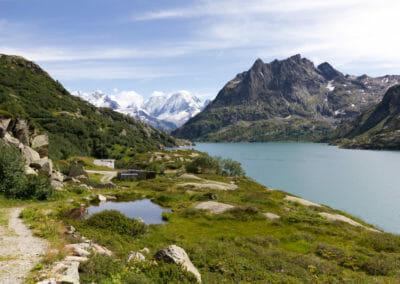 Magnifique vue sur le Lac d'Emosson - Vallée du Trient