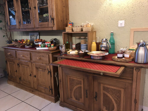 Maison d'Hôte - Le Rêve Gourmand - Petit déjeuner