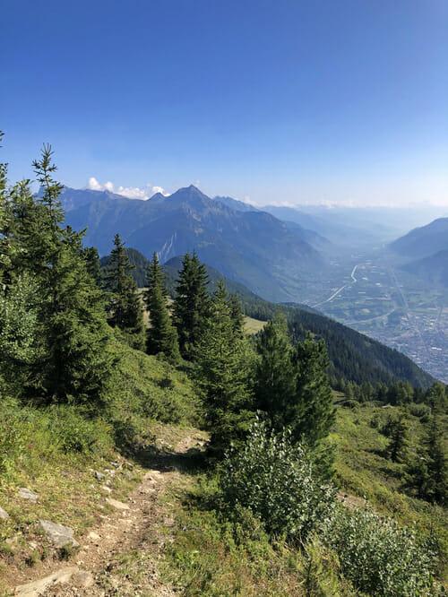 Mont de l'Arpille - Vallée du Trient