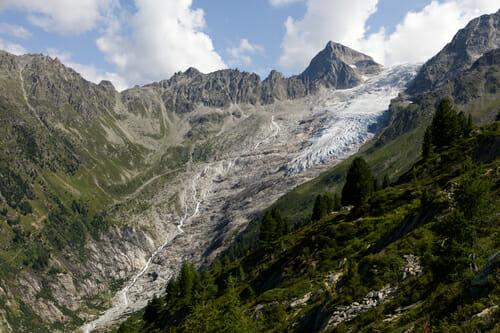 Blog Voyage Nature & Randonnée - Glacier du Trient - Suisse