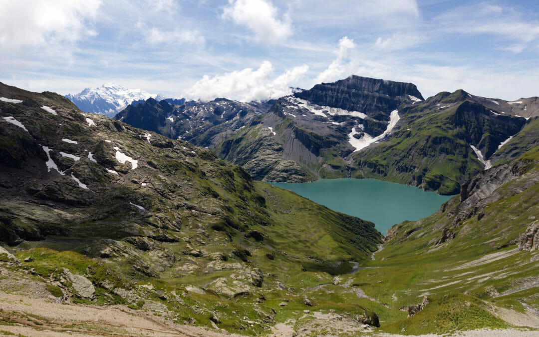 Tour de la Vallée du Trient - Lac d'Emosson