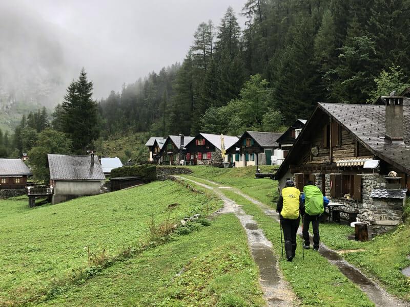 Village de Van d'En Bas - Vallée du Trient