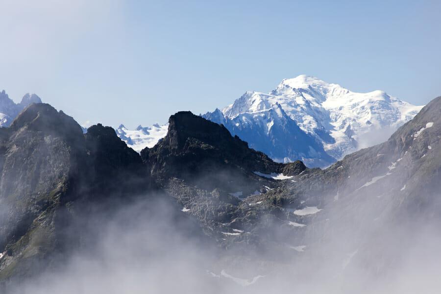 Blog Voyage Nature & Randonnée - Vue du Mont Blanc