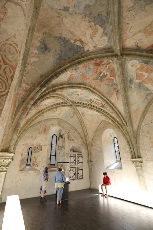 A l'intérieur du Château de Chillon