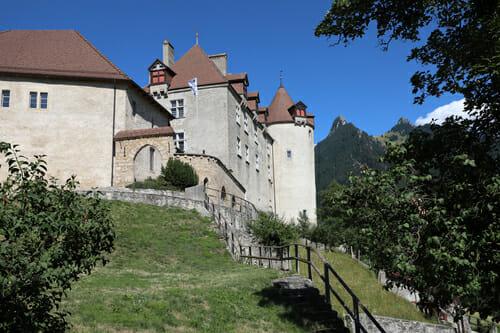 Château de Gruyères - 1h de Champéry