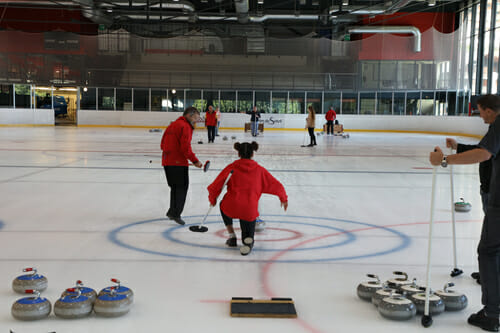 Initiation au Curling - Palladium de Champéry