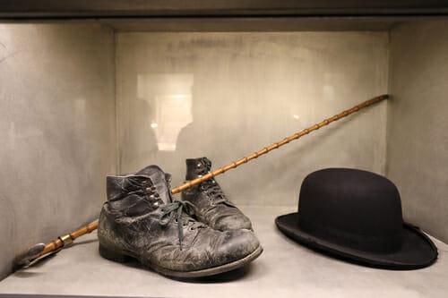 Les fameux accessoires de Charlie Chaplin - Chaplin's World - Vevey