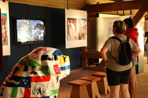 Musée du Saint Bernard en famille