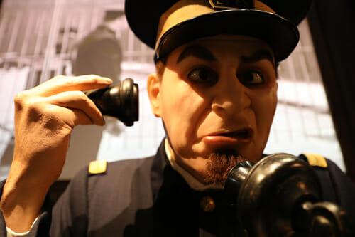 Statue de cire du Musée Chaplin