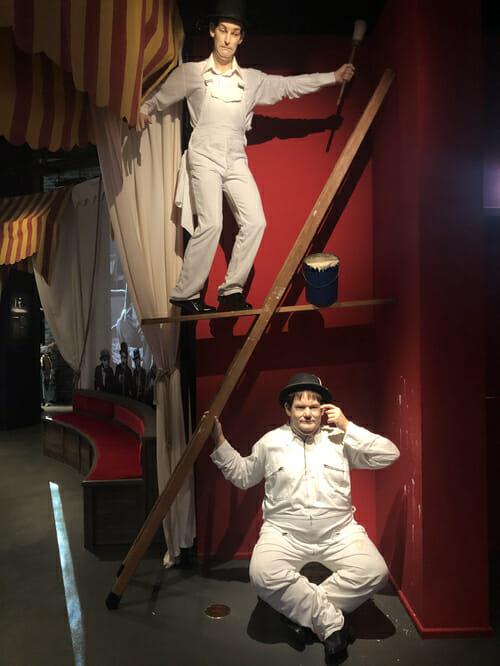 Statues de Cire - Création Grévin au Musée Chaplin