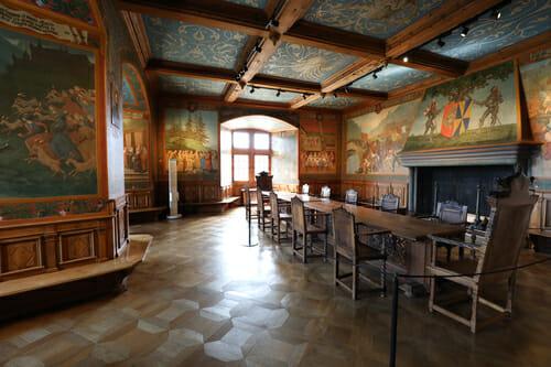 Visite du Château de Gruyères