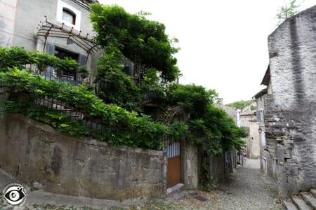 Dans le village de Labeaume - Ardèche