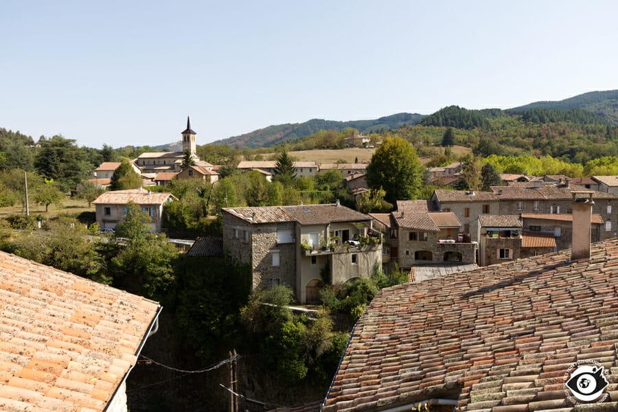 Jaujac en Ardèche - France
