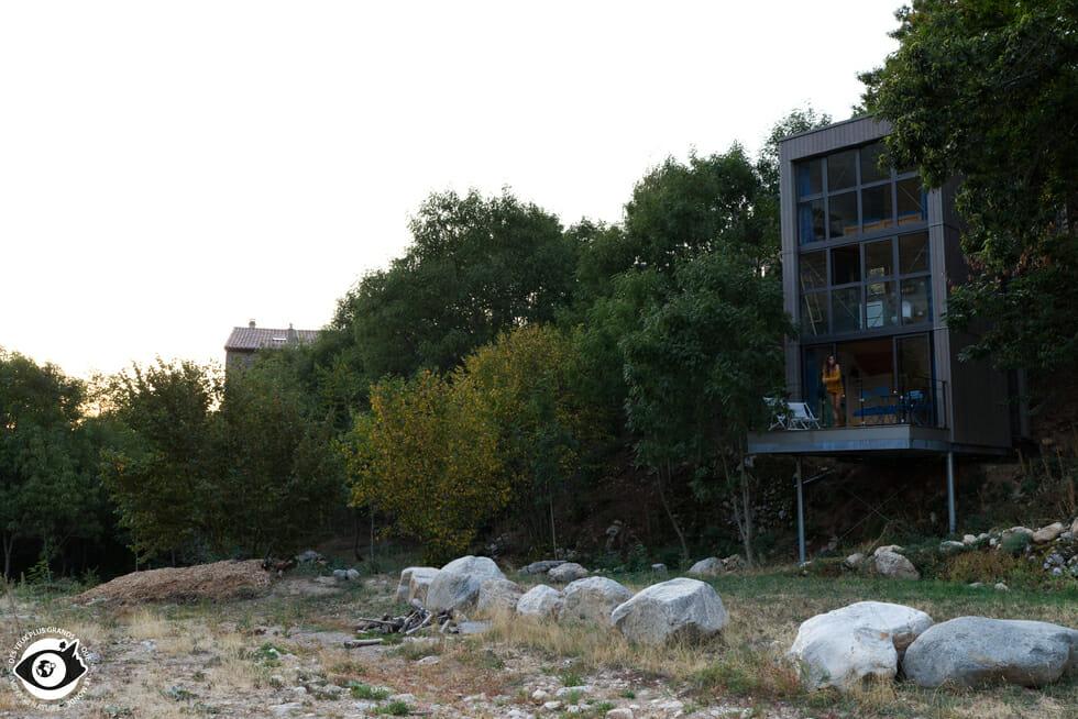 Les Cabanes du Loup Bleu - La Souche - Ardèche