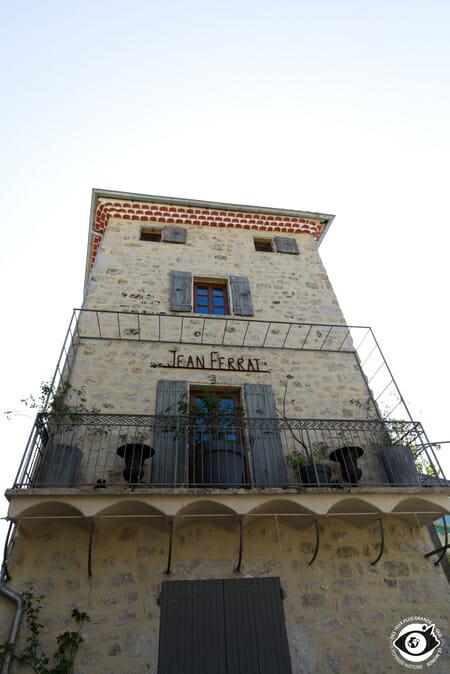 Maison de Jean Ferrat - Antraigues sur Volane - Ardèche