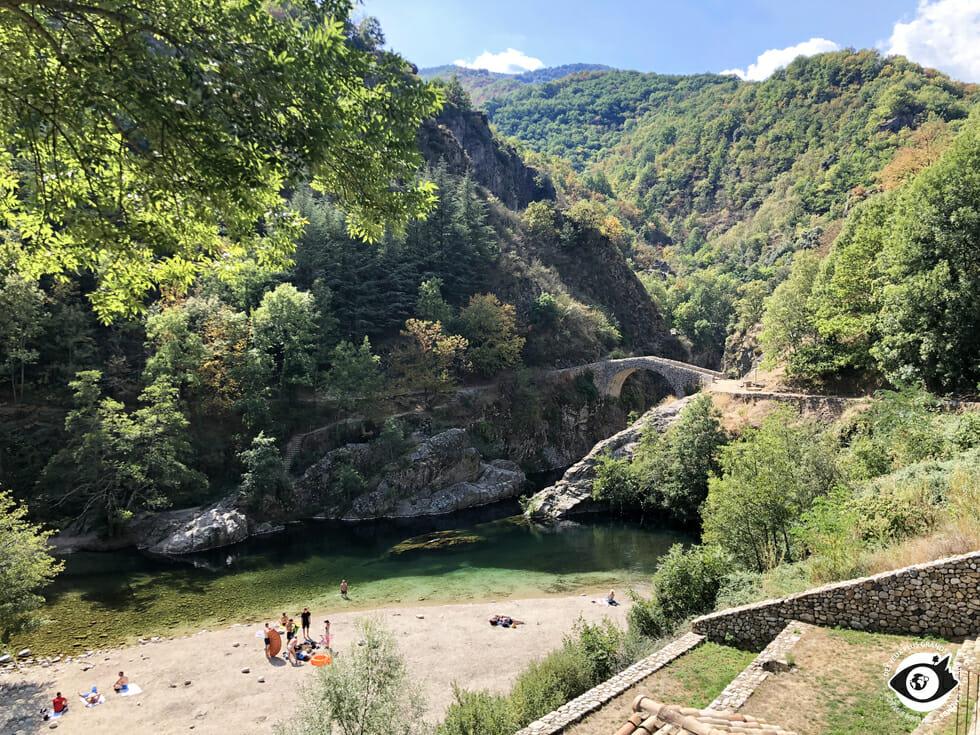 Pont du Diable - Thueyts - Ardèche
