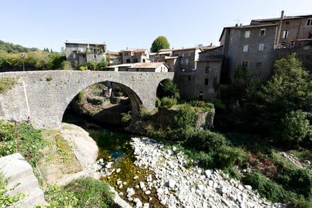 Pont romain de Jaujac - Ardèche - France