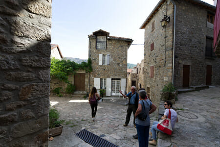Visite commentée d'Antraïgues sur Volane - Ardèche