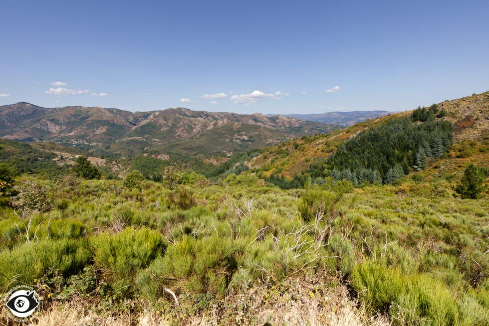 Vue du Col de la Croix de Millet - Ardèche des Sources et Volcans