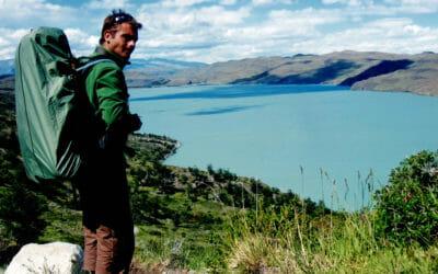 Equipement nécessaire en randonnée - Moi à Torres del Paine au Chili