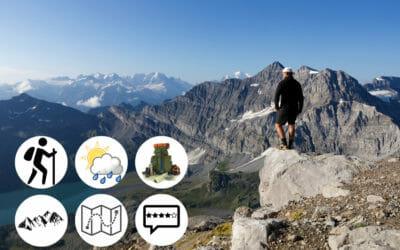 6 règles de base pour débuter la randonnée