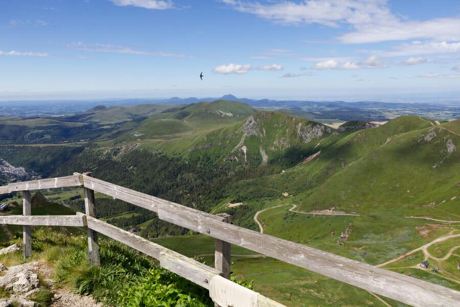 En haut du Puy de Sancy - Randonnée Puy de Dôme