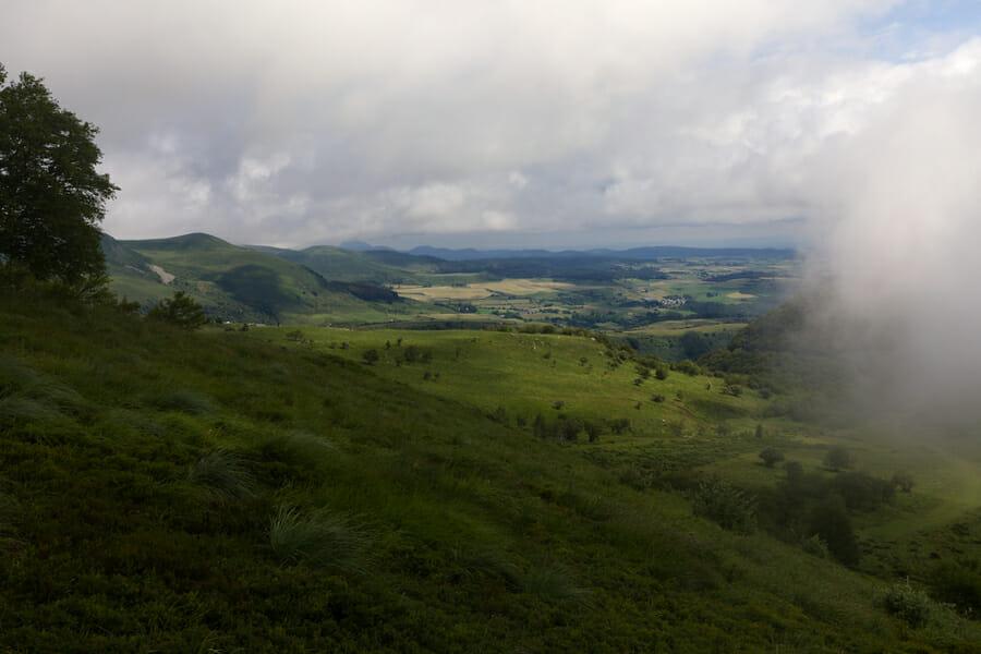 Entre le Roc de Cuzeau et le Puy Crebasse - Boucle du Sancy
