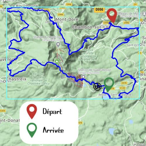 Etape 2 - Chambon-sur-Lac _ Lac Pavin - Boucle du Sancy