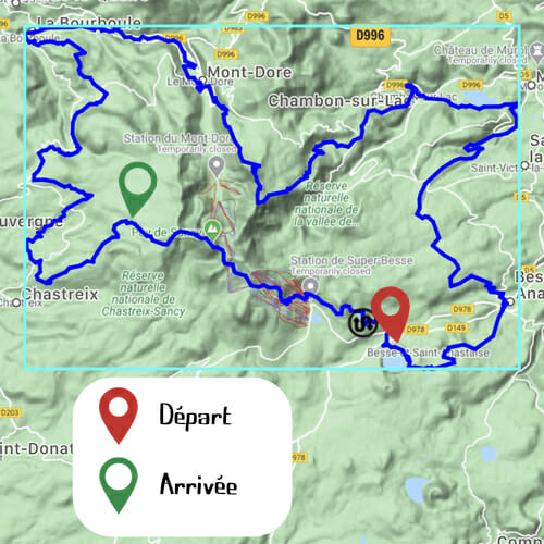 Etape 3 - Lac Pavin - Chastreix-Sancy - Boucle du Sancy