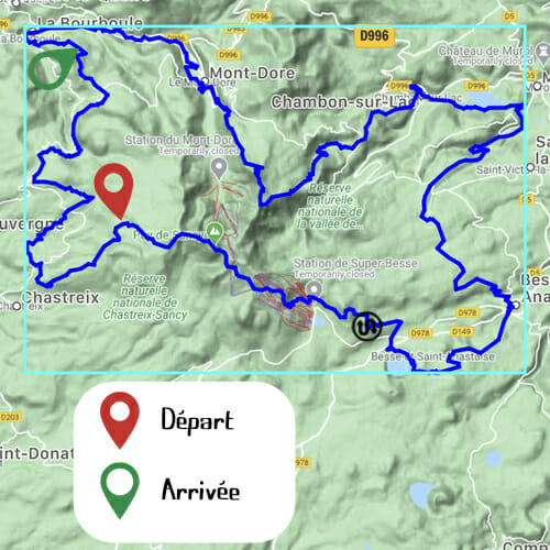 Etape 4 - Chastreix-Sancy - Le Pregnoux - Boucle du Sancy