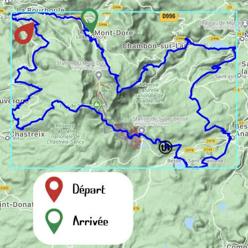 Etape 5 - Le Pregnoux - Mont Doré - Boucle du Sancy