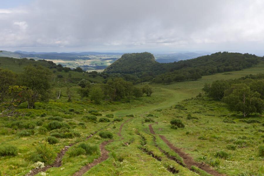 Paysage d'Auvergne - Boucle du Sancy