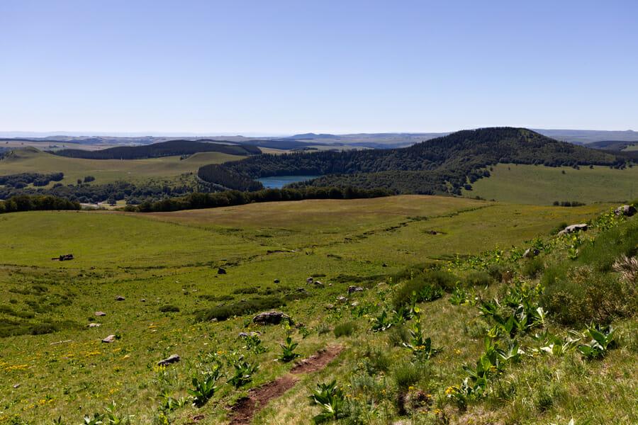 Vue sur le Lac Pavin - Boucle du Sancy