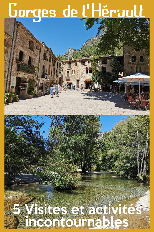 Gorges de l\'Hérault : 5 sites incontournables à visiter