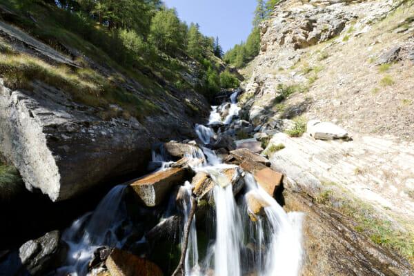 Rivière_Cascade _ Parc Gran Paradiso _ Voyage Photo