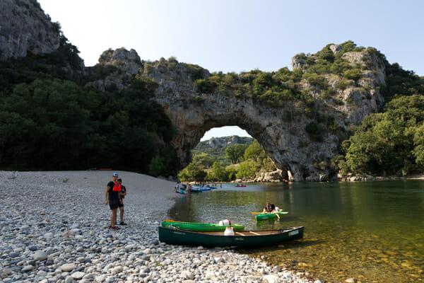 Pont d'Arc des Gorges de l'Ardèche
