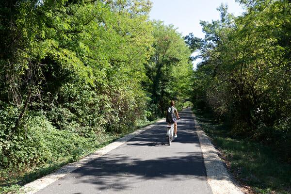 Sur la voie douce de la Payre - Que faire en Ardèche ?